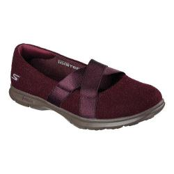 Women's Skechers GO STEP Chic Mary Jane Burgundy