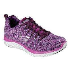 Women's Skechers Relaxed Fit Valeris Full Force Cross Training Shoe Purple