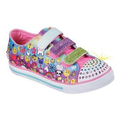 Girls' Skechers Twinkle Toes Chit Chat Simply Silly Sneaker Multi