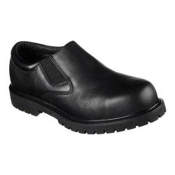 Men's Skechers Work Relaxed Fit Cottonwood Coeburn ST Slip-On Black