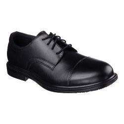 Men's Skechers Work Relaxed Fit Gretna Gering SR Oxford Black