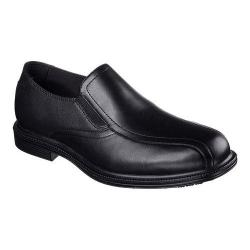 Men's Skechers Work Relaxed Fit Gretna Slip-Resistant Slip-On Black