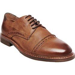 Men's Steve Madden Dystrow Cap Toe Oxford Tan Leather