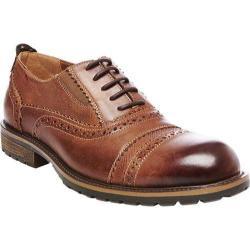 Men's Steve Madden Spanner Brogue Tan Leather
