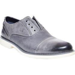 Men's Steve Madden Tobyas Laceless Oxford Grey Leather