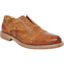 Men's Steve Madden Trofey Laceless Oxford Tan Embossed Leather