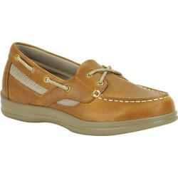 Women's Apex Sydney Boat Shoe Camel Leather