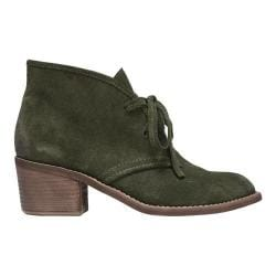 Women's Carlos by Carlos Santana Graham Ankle Boot Olive Suede
