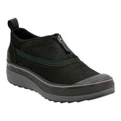 Women's Clarks Muckers Ruck Waterproof Boot Black Cow Nubuck
