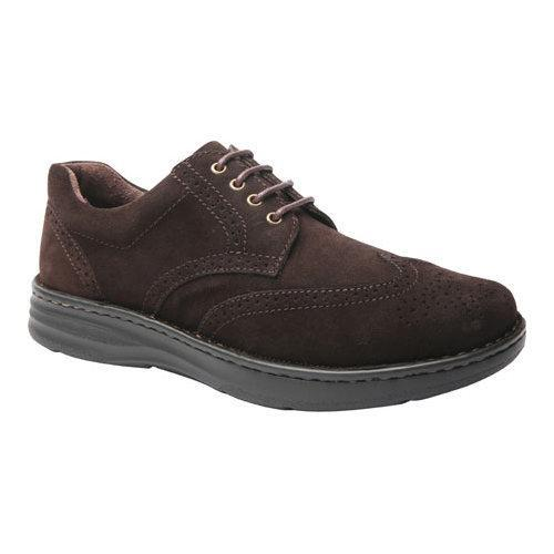 Men's Drew Delaware Wing Tip Brown Suede