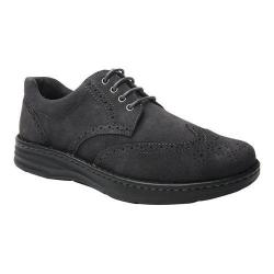 Men's Drew Delaware Wing Tip Grey Suede