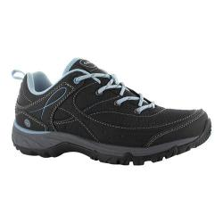 Women's Hi-Tec Equilibrio Bijou Low I Boot Black/Forget Me Not Synthetic