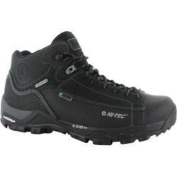 Men's Hi-Tec Trail OX Chukka I Waterproof Boot Black/Goblin Blue Leather