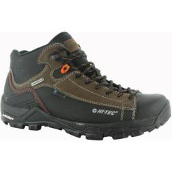 Men's Hi-Tec Trail OX Chukka I Waterproof Boot Dark Chocolate/Burnt Orange Leather
