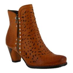Women's L'Artiste by Spring Step Emese Bootie Camel Leather