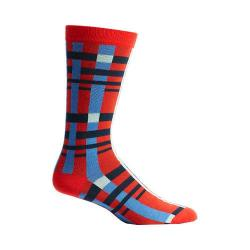 Men's Ozone Tektonika Plaid Socks (2 Pairs) Red