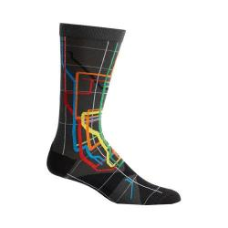 Men's Ozone Vignelli Diagram Socks (2 Pairs) Black