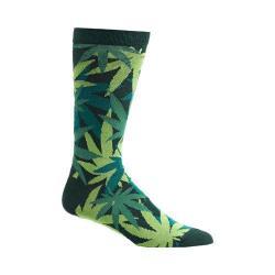Men's Ozone Weed Camo Socks (2 Pairs) Green