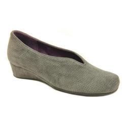 Women's VANELi Mango Slip-On Grey Perfed Suede