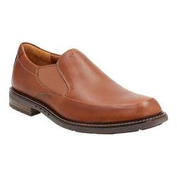 Men's Clarks Un.Elott Step Slip-On Tan Cow Full Grain Leather