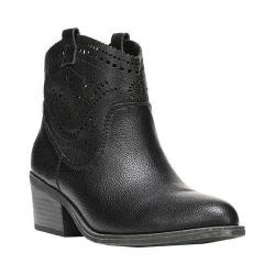 Women's Fergalicious Winchester Ankle Boot Black Synthetic Leather