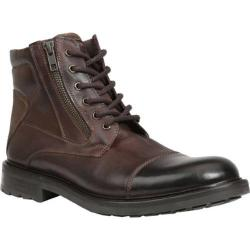 Men's GBX Tomson Cap Toe Boot Brick Rino/Rust Suede
