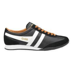 Men's Gola Wasp Casual Sneaker Black/White/Chili Nylon