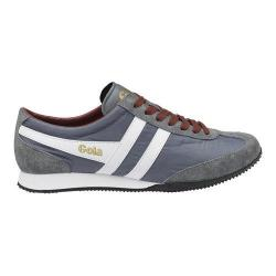 Men's Gola Wasp Casual Sneaker Grey/White/Burgundy Nylon