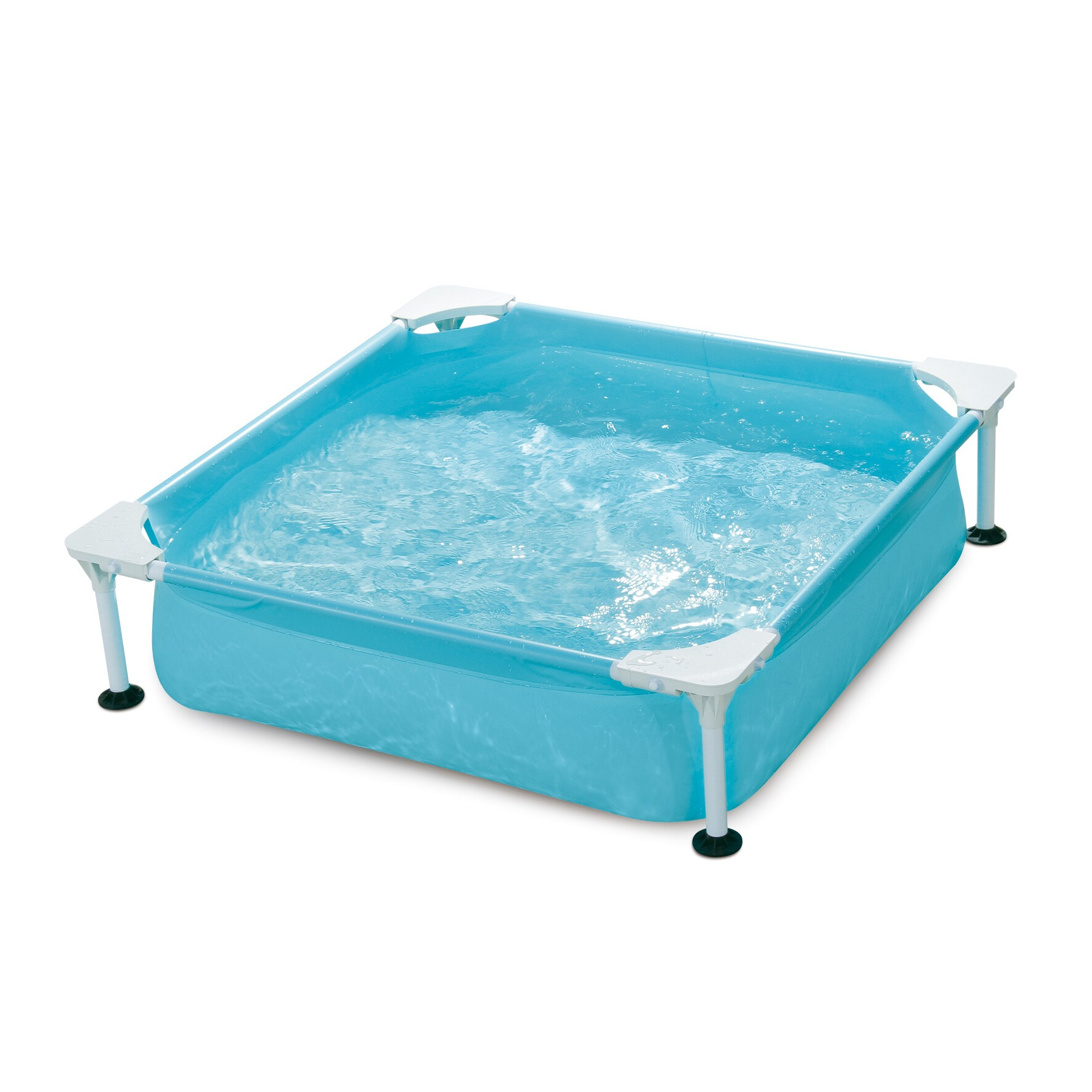 Small Square Frame Kiddie Pool