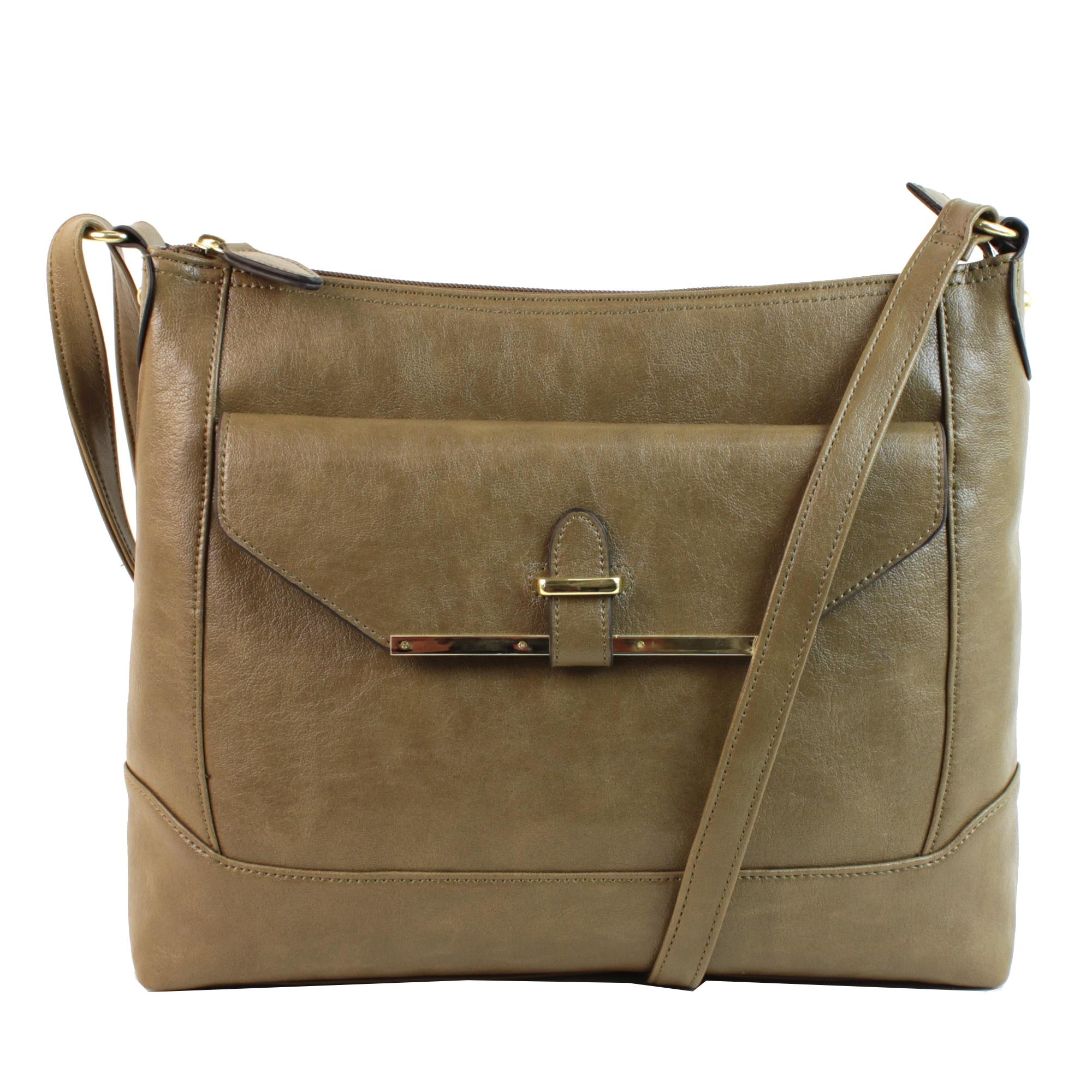 Mondani Emilie M. Charli Top-zipper Hobo Bag