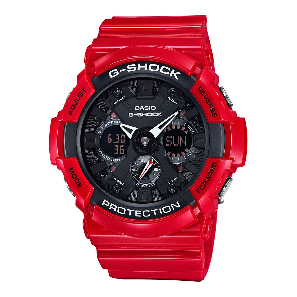 Casio G-Shock Black Dial Resin Quartz Men's Watch