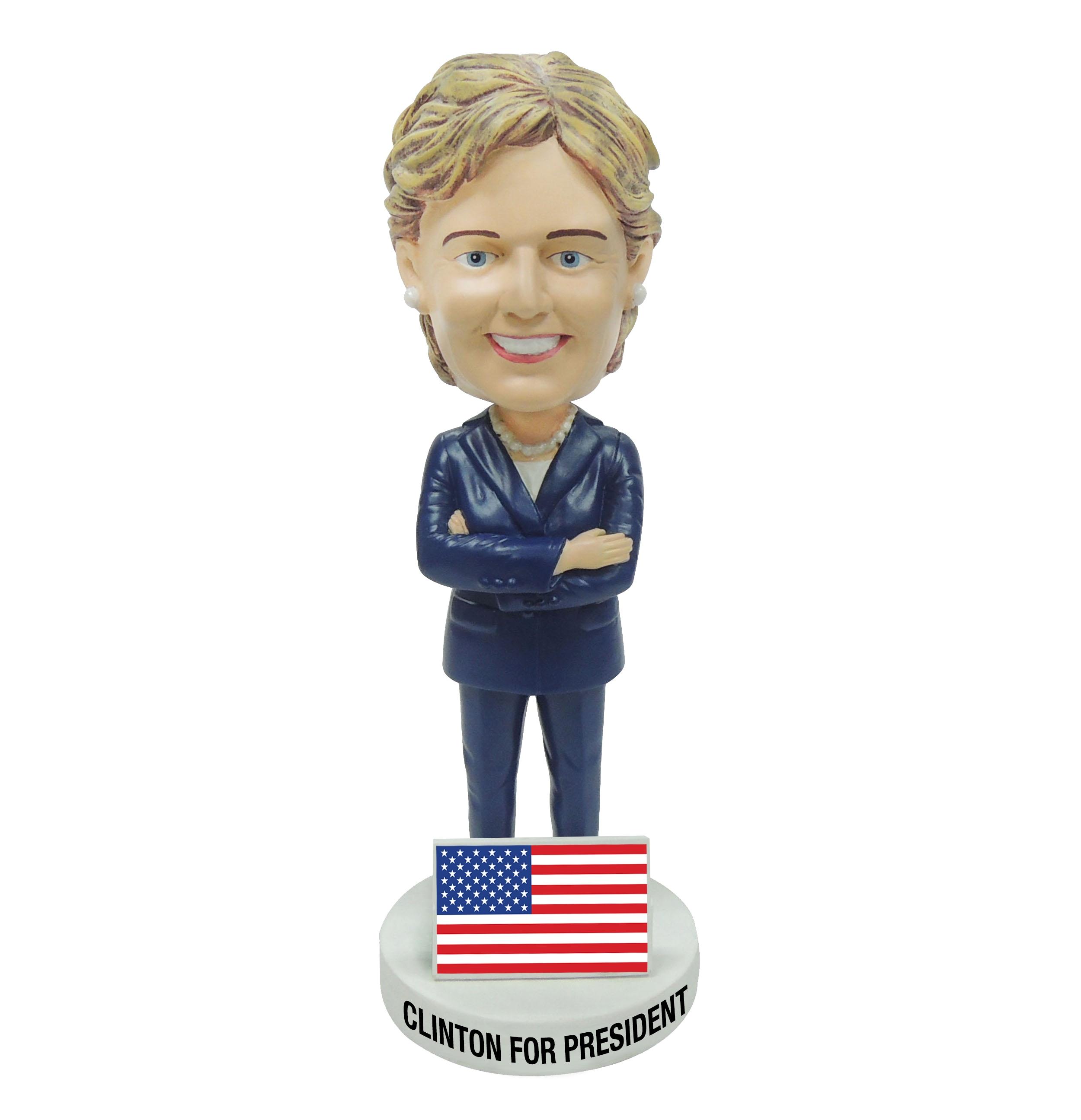 Hillary Clinton For President Bobblehead