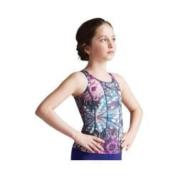 Girls' Capezio Dance Kalina Tank Top Butterfly Kaleidoscope