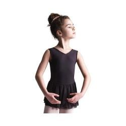 Girls' Capezio Dance Petal Ballet Dress Black