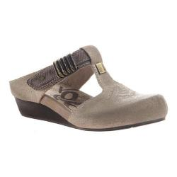 Women's OTBT Streams Wedge Slip On Old Gold Leather