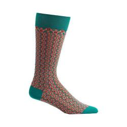 Men's Ozone Crescent Waves Socks Green