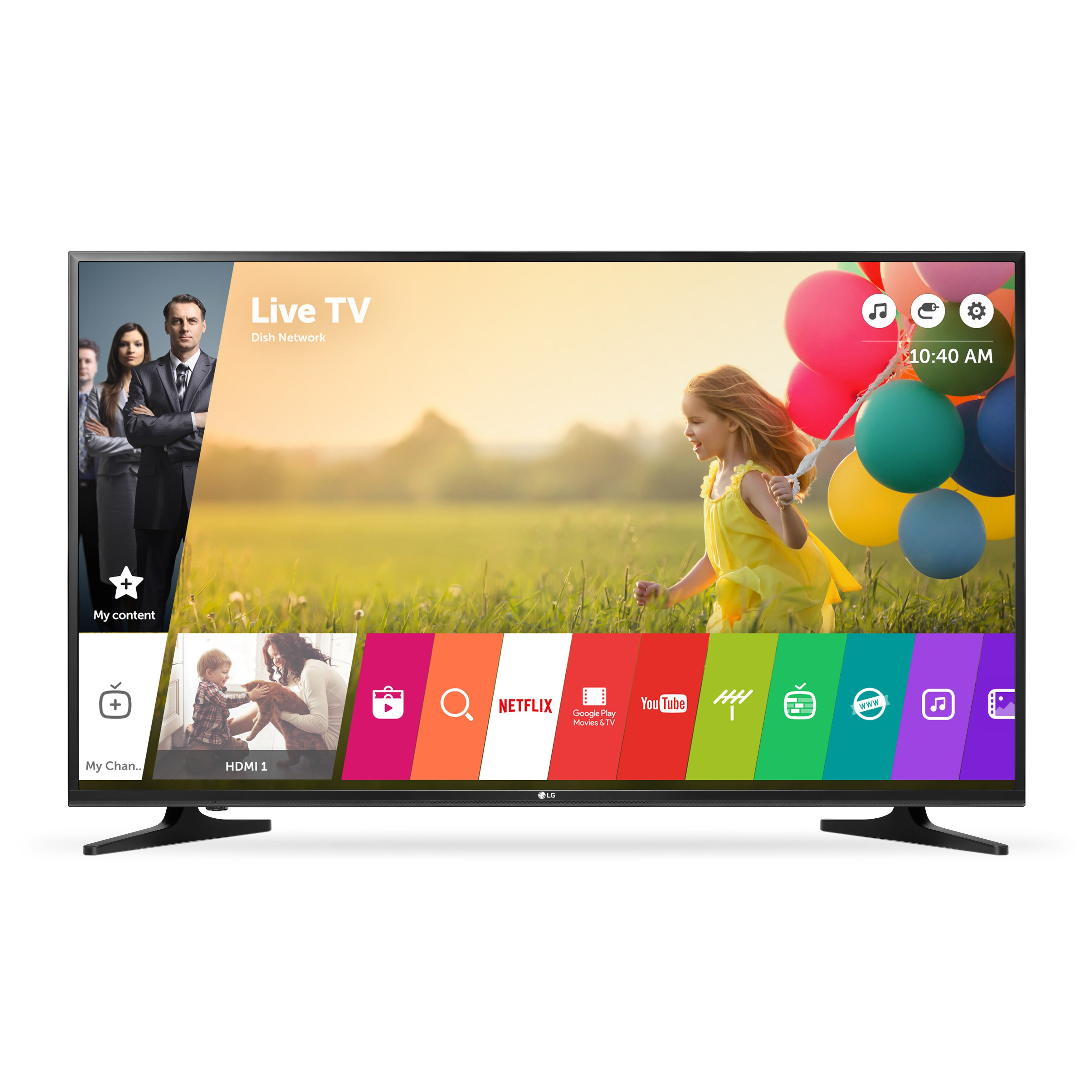 LG 50UH5500 50-inch Class 4K UHD LED Television With Smart TV