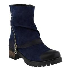 Women's Azura Kecak Ankle Boot Navy Nubuck