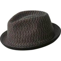 Men's Bailey of Hollywood Cain Fedora 25337BH Black Melange
