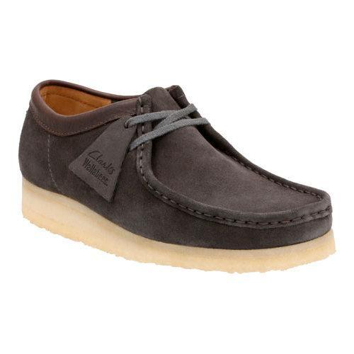 667445980d93f Shop Men s Clarks Wallabee Charcoal Suede - Free Shipping Today - Overstock  - 12386718