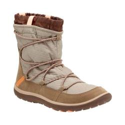 Women's Clarks Aria Frost Ankle Boot Taupe Synthetic