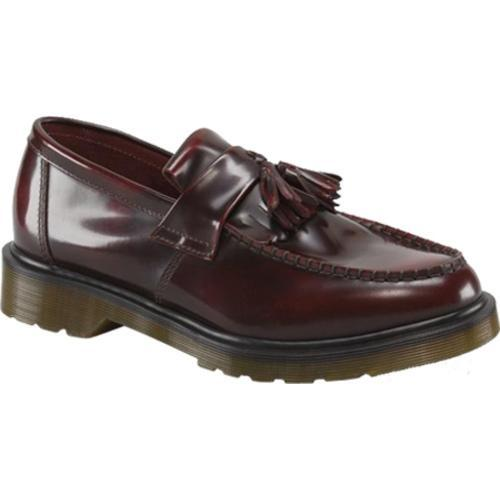 f33b1eb8eab Shop Men s Dr. Martens Adrian Tassel Loafer Burgundy Classic Rub Off - Free  Shipping Today - Overstock - 12386728