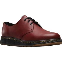 Men's Dr. Martens Cavendish 3-Eye Shoe Cherry Red Temperley