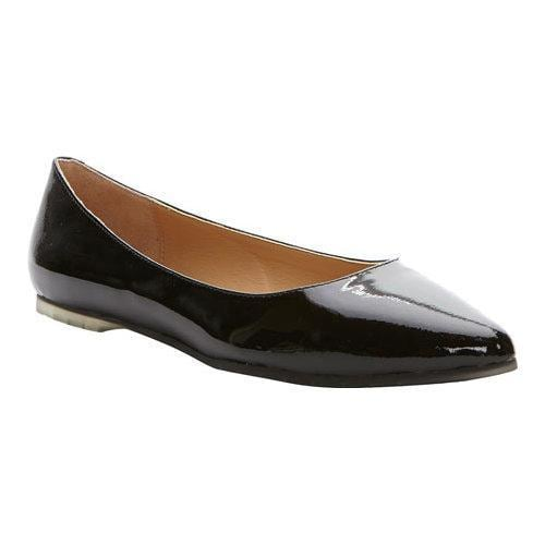 f4954035fc2b4b Shop Women s Me Too Aimee Flat Black Patent Leather - Free Shipping ...
