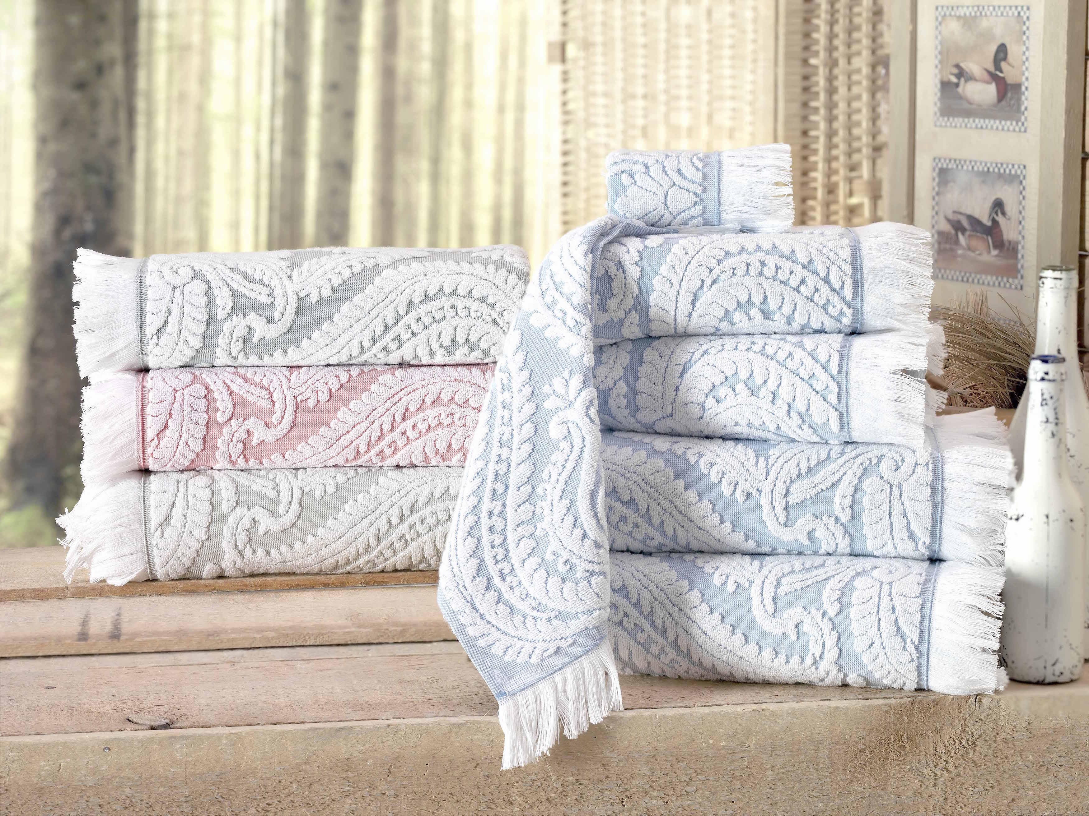 Laina Turkish Cotton Hand Towel (Set of 8)