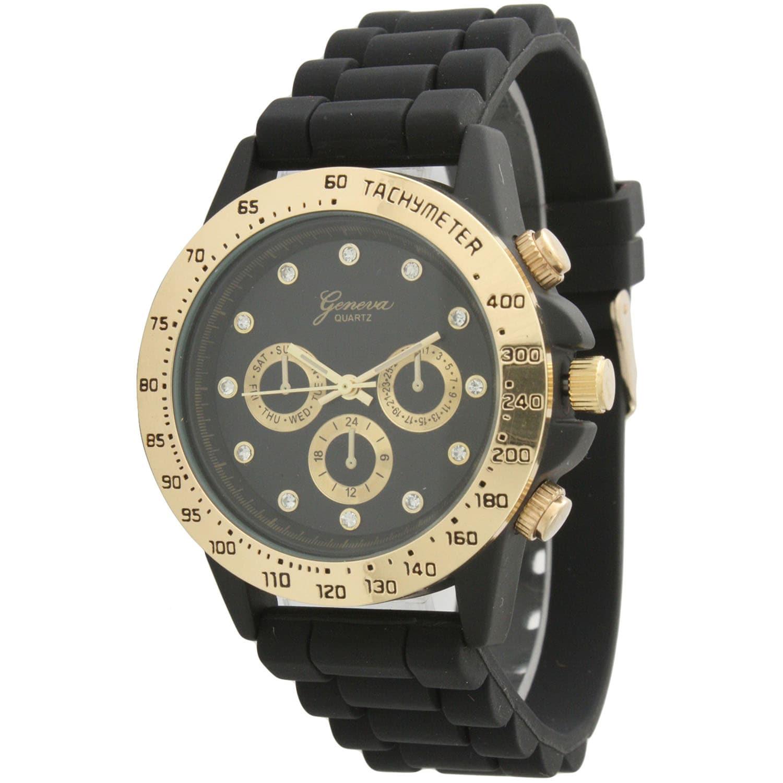 Olivia Pratt Tachymeter Silicone Watch