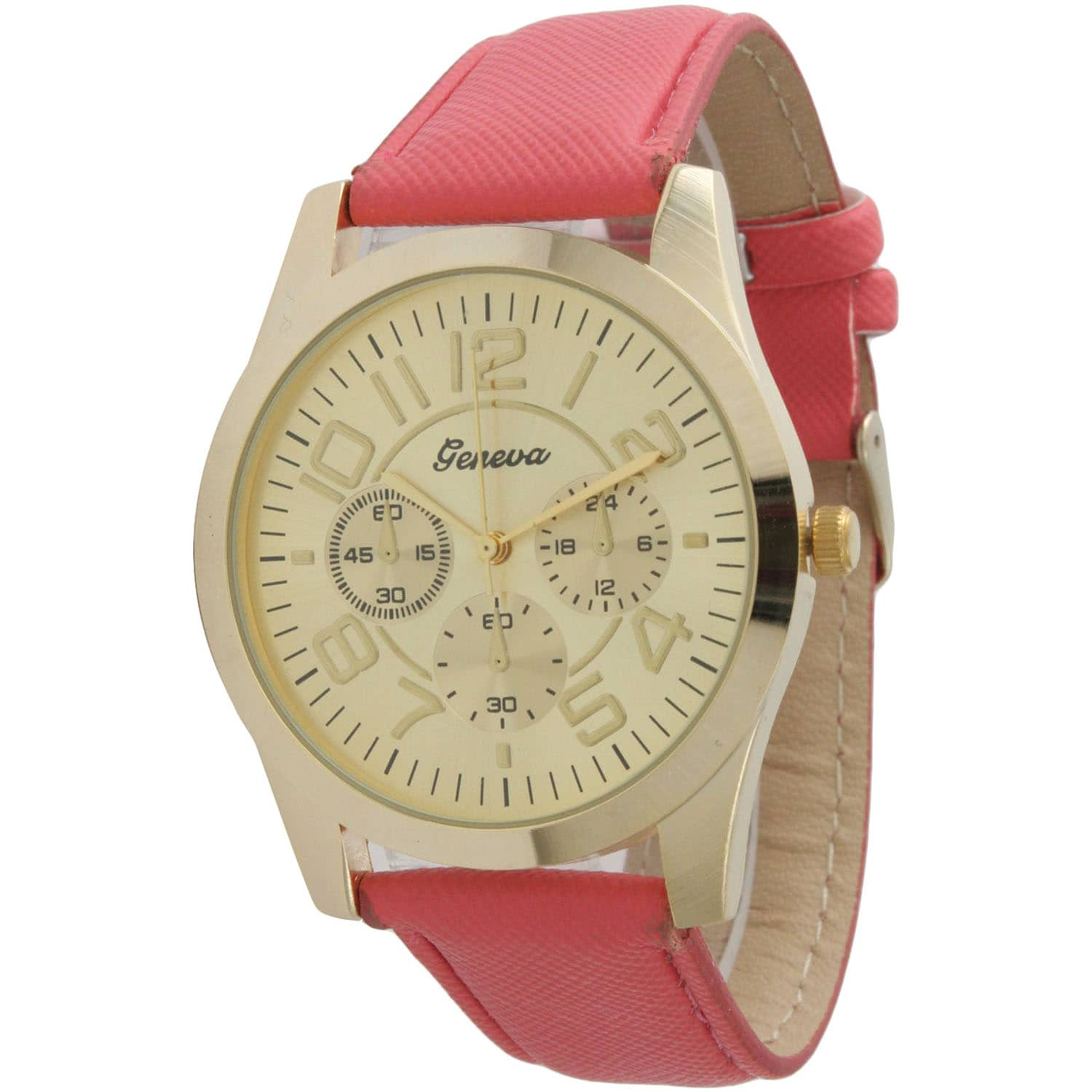Olivia Pratt Simple and Stylish Leather Watch