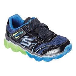 Boys' Skechers Skech-Air Turbo Rush Sneaker Black/Blue/Lime