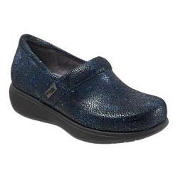 Women's SoftWalk Meredith Clog Navy Multi Leather