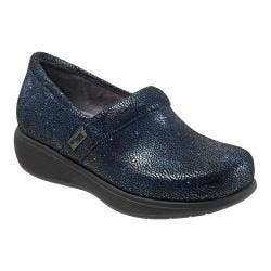 Women's SoftWalk Meredith Clog Navy Multi Leather|https://ak1.ostkcdn.com/images/products/126/333/P19209041.jpg?impolicy=medium